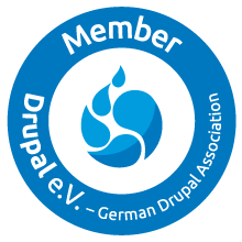 drupal eV Mitglied